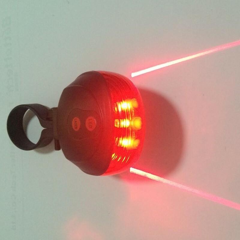 Laukut Maastopyörään : Led laser lamppu maastopy?r??n apilatuonti
