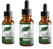 Teepuuöljy, Tea Tree Oil, 3 x 10ml pullo